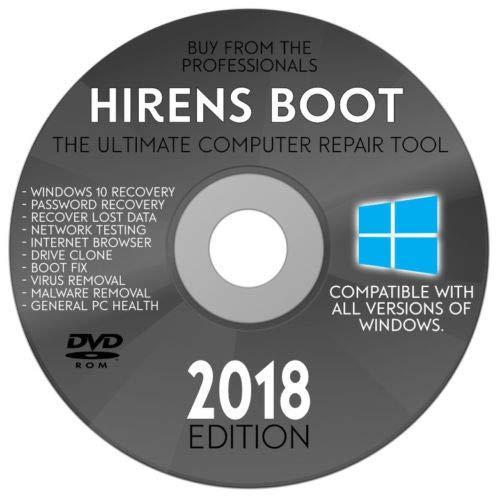 DVD Hiren Boot 15.3 Tích hợp Mini WIN10PE + Hướng dẫn chức năng