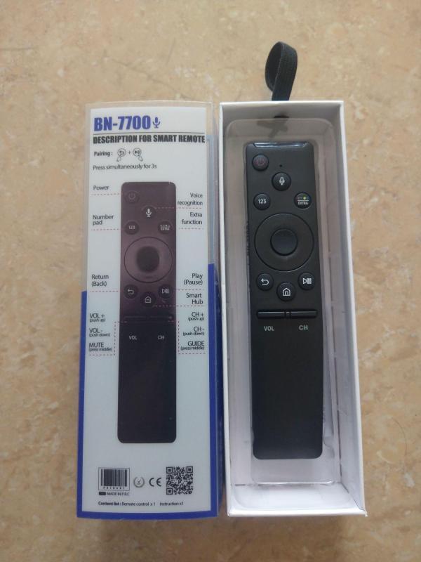 Điều khiển TV Samsung smart giọng nói.