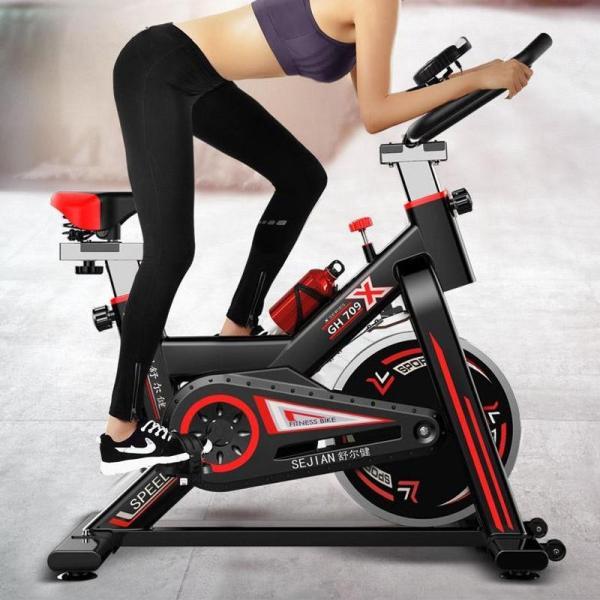 xe đạp tập thể dục air bike Máy đạp xe thể dục trong nhà.Máy đạp xe giảm cân, giảm mỡ đa chức năng phù hợp với mọi đối tượng trong gia đình gia đình