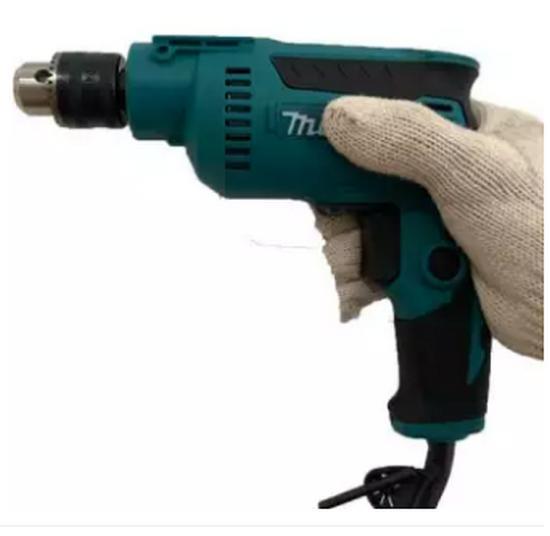máy khoan MAKITA máy khoan tường 10 ly máy khoan cầm tay mini máy vặn ốc vít cầm tay nhỏ gọn máy khoan cho gia đình