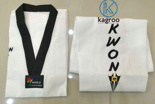 Võ Phục Taekwondo - Kwon Star Fighter - Vải Kim Cương Ô Vuông