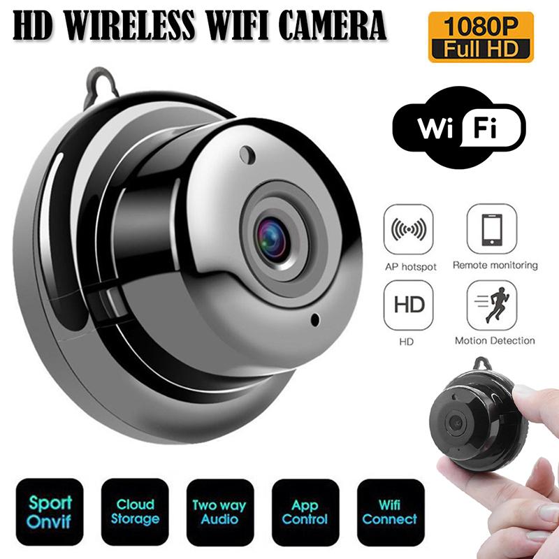Camera IP V380 mini SM0220 kết nối wifi không dây 1080P HD hồng ngoại quan sát ban đêm giám sát an ninh - INTL