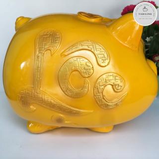 Lợn đất tiết kiệm đựng tiền size SIÊU TO cute đẹp giá rẻ TABILINE LD06 7