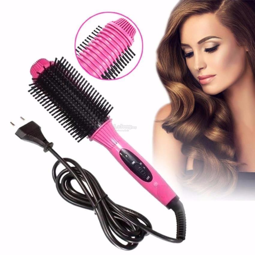 Lược Tạo Kiểu Tóc, Máy Uốn Tóc, Lược Điện Nova Nhc 8810, Lược Điện Uốn Tóc Đa Năng Lược chải phồng tóc, Đồ nghề làm tóc tại nhà cao cấp