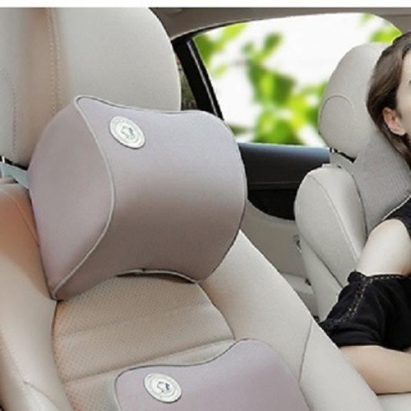 Gối tựa đầu xe hơi chất liệu cao su non hoạt tính cao cấp