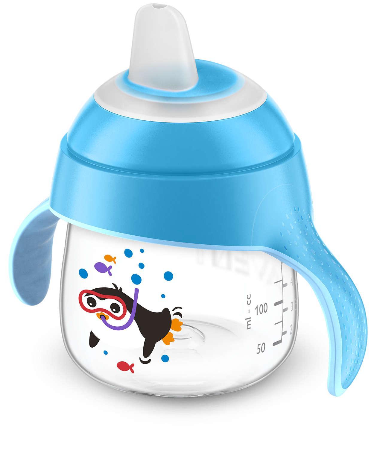 Bình AVENT tập bé uống nước - hàng xách tay ÚC