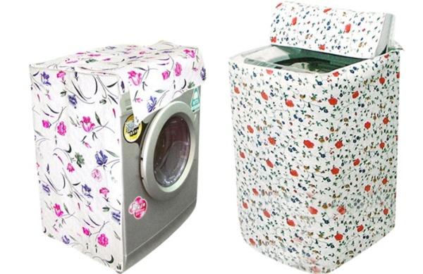 Bảng giá Vỏ bọc máy giặt cửa trên và cửa trước loại 1 dày đẹp - Áo trùm máy giặt bảo vệ chống nắng chống nước Điện máy Pico