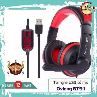 Tai Nghe Ovleng Q5 GT91 - Cổng USB - Tích hợp Mic - Tăng giảm âm lượng - Bảo hành chính hãng 12 tháng thumbnail