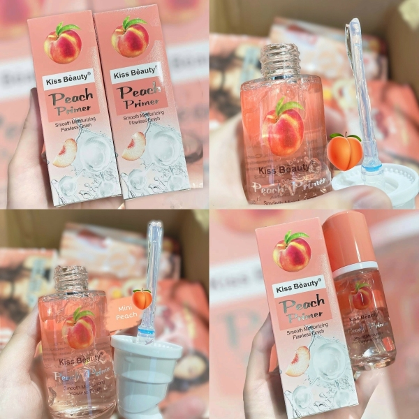 Primer lót trang điểm đa năng Kiss Beauty Peach đào giá rẻ