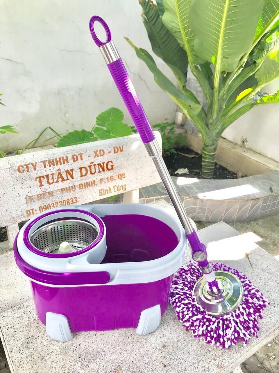 Bộ Cán Chổi Lau Nhà Thái Lan- Tiện Dụng Cho Gia đình Có Giá Cực Kỳ Tiết Kiệm