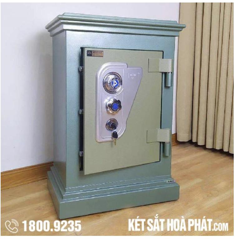 Két sắt Hòa Phát KA40KC Khoá cơ - Tập đoàn Hòa Phát - Hãng phân phối trực tiếp