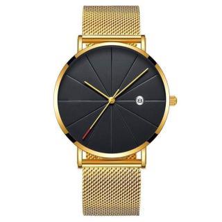 Đồng hồ Thời trang Nam Dewin dây da và dây lưới sang trọng thumbnail