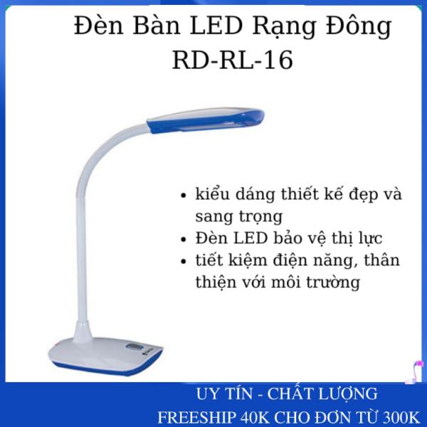 [Bảo Vệ Thị Lực] Đèn Bàn Học Sinh - Đèn LED Rạng Đông RD-RL-16