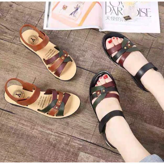 Sandal, dép quai hậu nhựa, hàng Quảng châu siêu rẻ, siêu êm chân giá rẻ