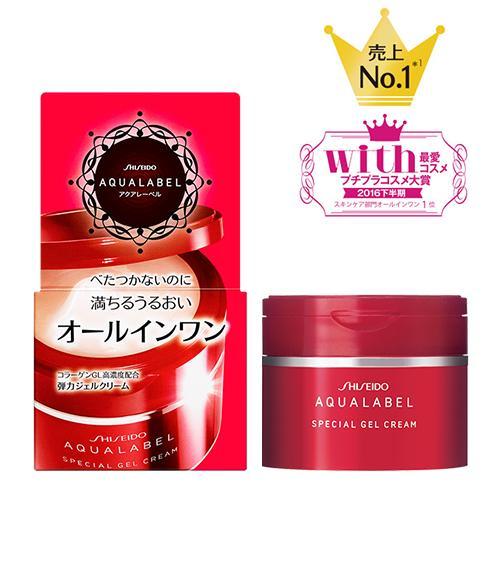 Giảm Giá Ưu Đãi Khi Mua Kem Dưỡng Da Shiseido Aqualabel Nhật Bản 5 In 1 Hộp 90g Nhật Bản (màu đỏ)