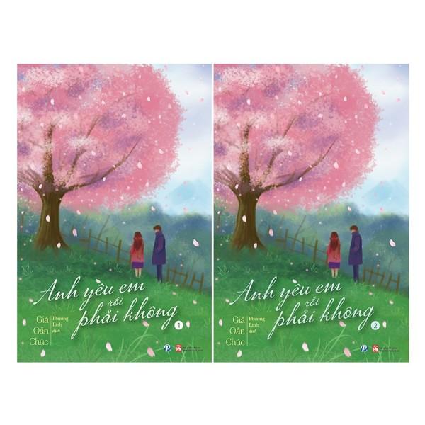 Sách - Anh Yêu Em Rồi Phải Không Combo 2 Tập - Giả Oản Chúc
