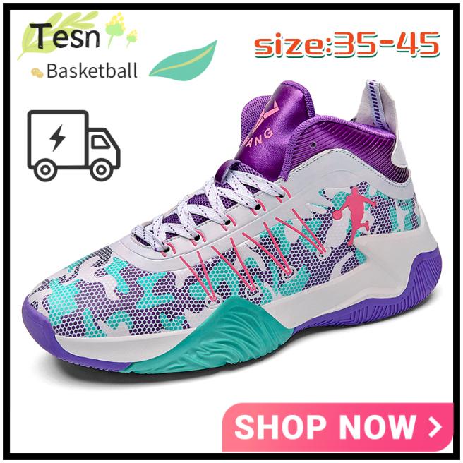 Bán giày bóng rổ cao cổ 35-45 mới, chính hãng, phổ biến, thời trang, linh hoạt, nhẹ và thoải mái giá rẻ