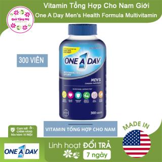 [ CHÍNH HÃNG ] Vitamin Tổng Hợp Cho Nam Giới One A Day Men s Health Formula Multivitamin 300 Viên thumbnail
