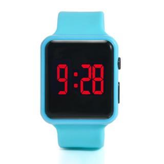 Đồng hồ tre em ma n hi nh LED (Nhiê u ma u) [ Đồng hồ trẻ em nam nữ giá rẻ, đồng hồ học sinh dễ thương ] thumbnail