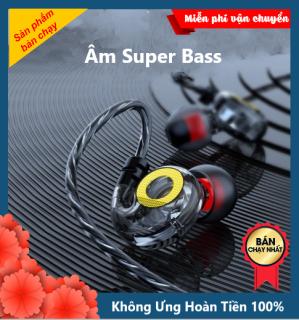 Tai Nghe Nhét Tai T05 GTS PRO BASS khủng Driver Dynamic 14mm nghe nhạc edm, remix cho âm thanh hay tương thích với điện thoại, mobile phone, máy tính bảng, máy tính, laptop, pc, kiểu dáng in ear chiến game cực tốt - XSmart thumbnail