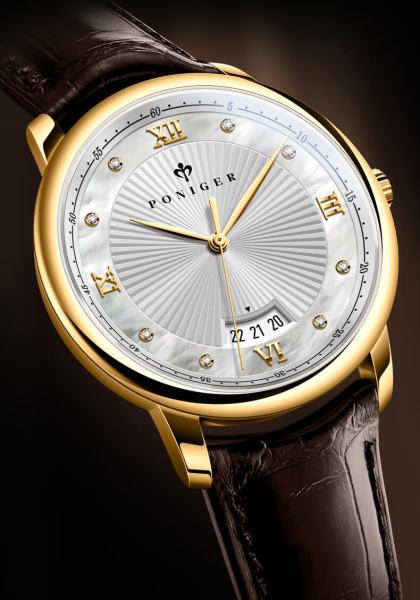 Đồng hồ nam chính hãng Poniger P2.03-1