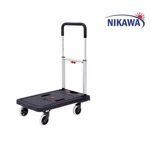Xe Đẩy Hàng Gấp Gọn 4 Bánh Nikawa FWS-100F