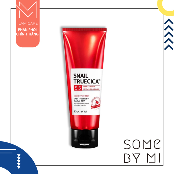 Some by mi sữa rửa mặt hỗ trợ làm mờ sẹo và vết thâm truecia miracle repair low ph gel cleaner 100ml