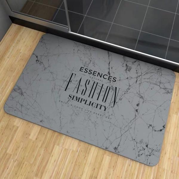[FREESHIP ❤️] - Thảm Đá Siêu Thấm Nước Phòng Tắm Công Nghệ Nhật Bản - Tặng Kèm Lót Thảm Và Giấy Nhám Vệ Sinh
