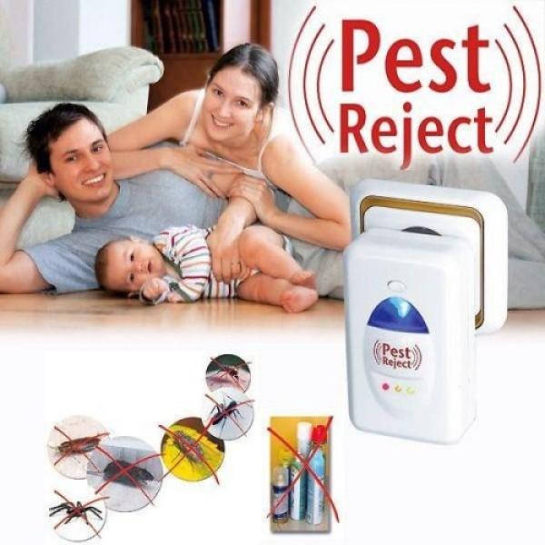 Máy Đuổi Chuột, Máy Đuổi Các Loại Côn Trùng Pest Reject Bằng Sóng Âm Hiệu Quả, Bảo Vệ Sức Khỏe, An Toàn Khi Sử Dụng