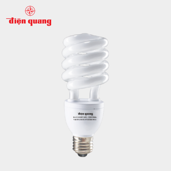 Đèn Compact xoắn Điện Quang ĐQ-SPL-T4-26W-DL-E27