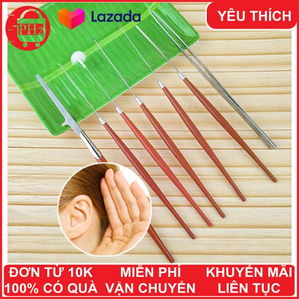 Bộ 7 cây ráy tai chuyên nghiệp giá rẻ và chất lượng ✓Giá rẻ ✓Rái tai ✓Ráy tay ✓ Dụng cụ chăm sóc tai ✓ Phát Huy Hoàng