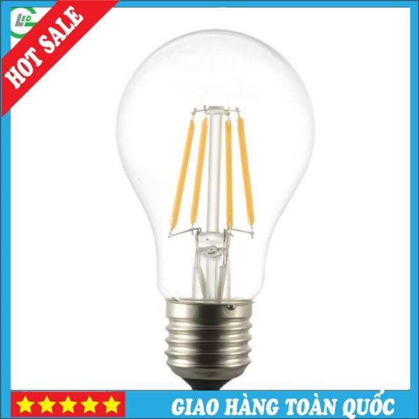 Bóng Đèn LED Edison A60 4W (Trắng 6000K / Vàng 3000K)
