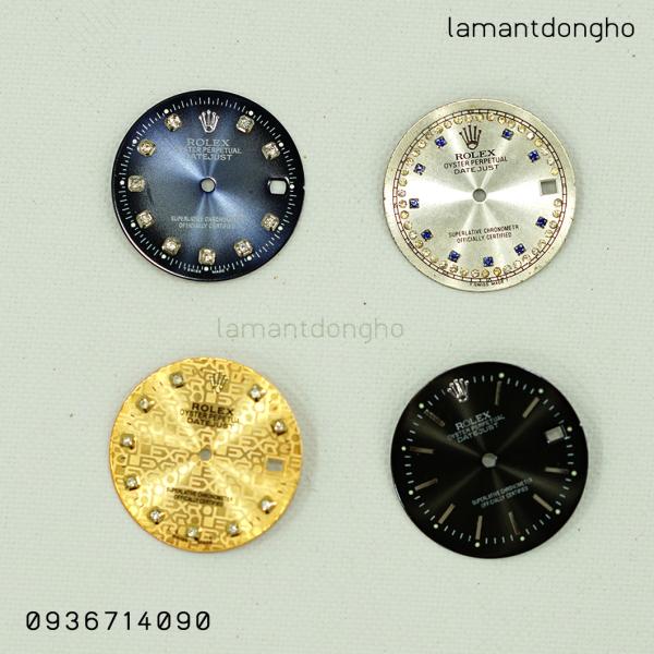 Mặt đồng hồ Rolex cho máy số (thông dụng)