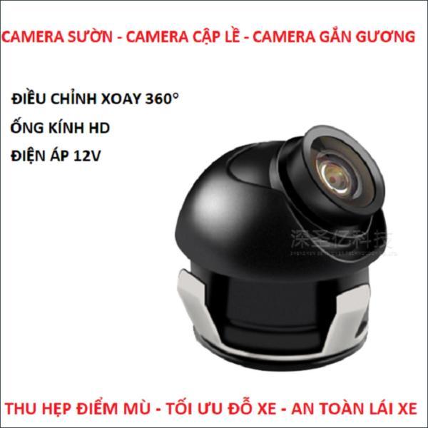 Camera sườn - camera cập lề - camera gắn gương ô tô
