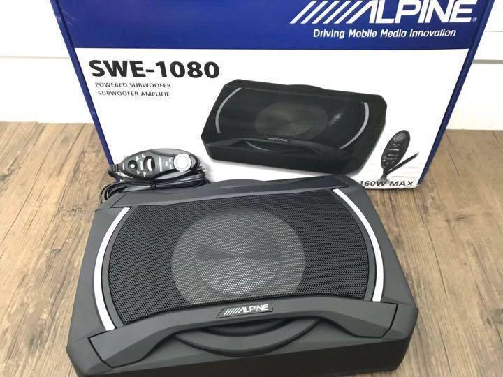 LOA SUB GẦM GHẾ CÔNG NGHỆ NHẬT BẢN ALPINE SWE- 1080 - SUB GẦM GHẾ ALPINE SWE- 1080 Giảm Giá Khủng