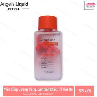 [35Viên- NoBox] Viên Uống Trắng Da, Giúp Da Săn Chắc Angel s Liquid Glutathione Ever Collagen (35 viên) thumbnail