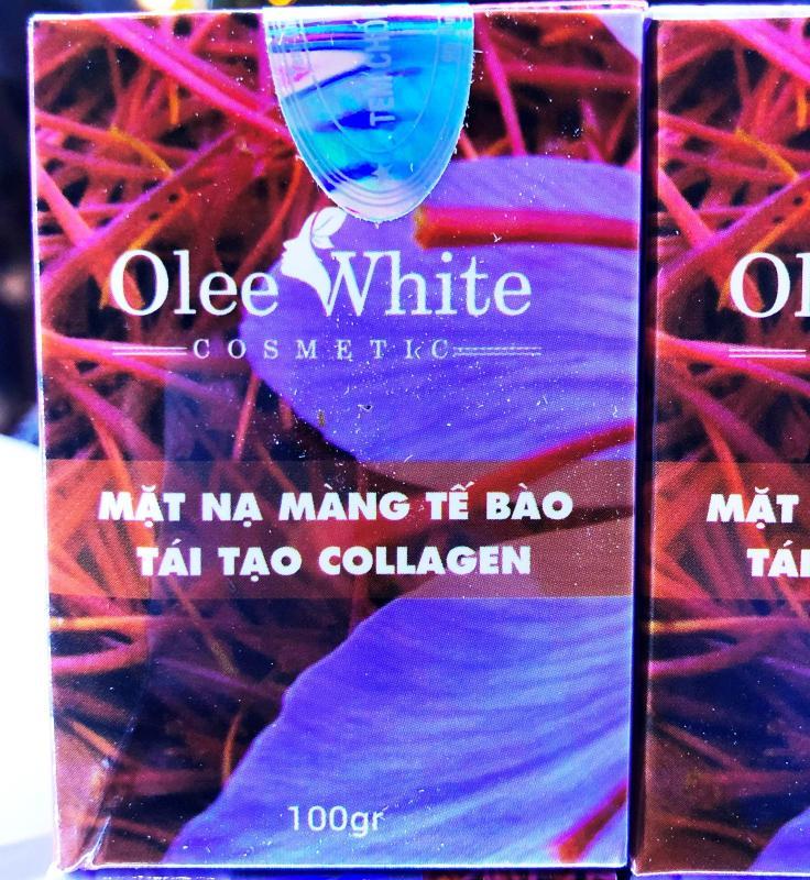 [Mỹ phẩm Hàn Quốc] Mặt Nạ Màng Tế Bào Tái Tạo Collagen - Olee White – Dưỡng Da Trắng Sáng, Tươi Trẻ nhập khẩu