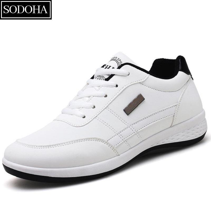 Giày Sneaker Nam Thời Trang SODOHA SN22-98W Màu Trắng