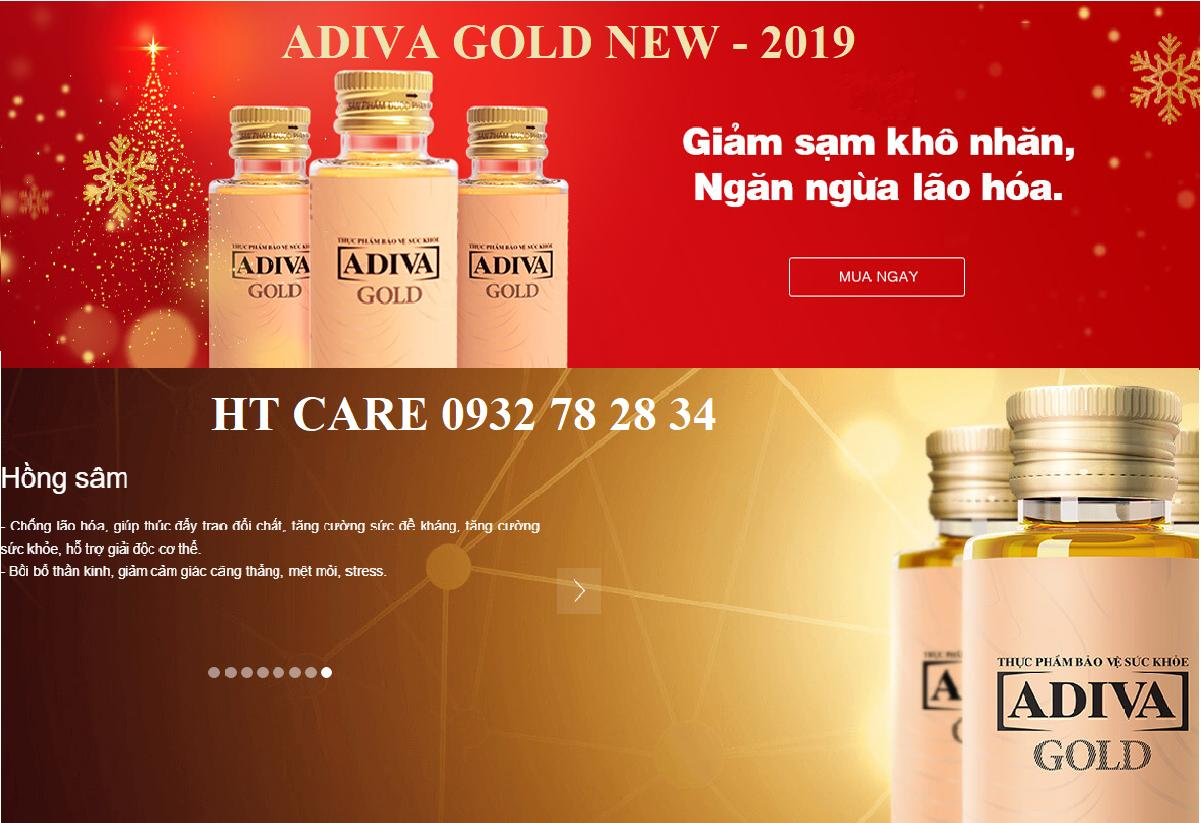 COLLAGEN ADIVA GOLD - HỘP 14 LỌ
