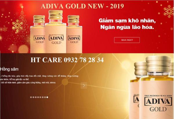 COLLAGEN ADIVA GOLD - HỘP 14 LỌ giá rẻ