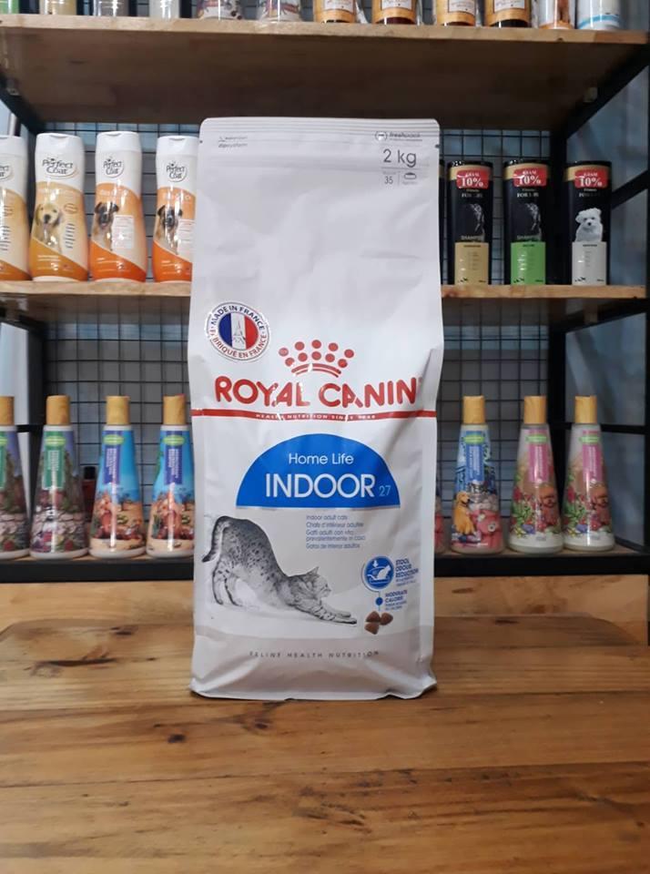 Thức ăn Cho Mèo Trưởng Thành Royal Canin Indoor 2kg Giá Siêu Cạnh Tranh