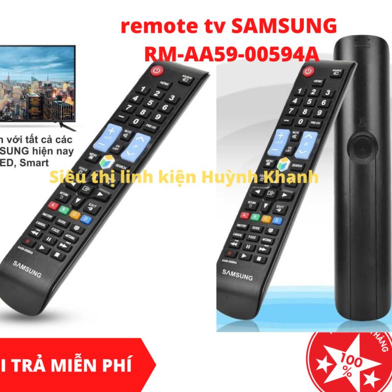 REMOTE TV SAMSUNG RM-AA59-00594A chính hãng