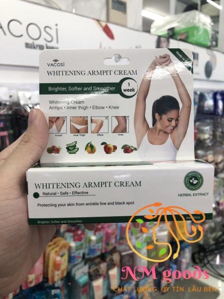 Kem làm sáng vùng thâm Vacosi Whitening Armpit Cream nhập khẩu
