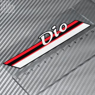 Honda DIO AF1828Thời Gian Xe Máy Tay Ga Dán Phản Quang Không Thấm Nước thumbnail