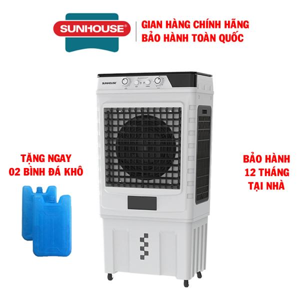 Quạt điều hòa không khí Sunhouse SHD7758 - Máy làm mát không khí - Quạt hơi nước - Bảo hành 12 tháng tại nhà