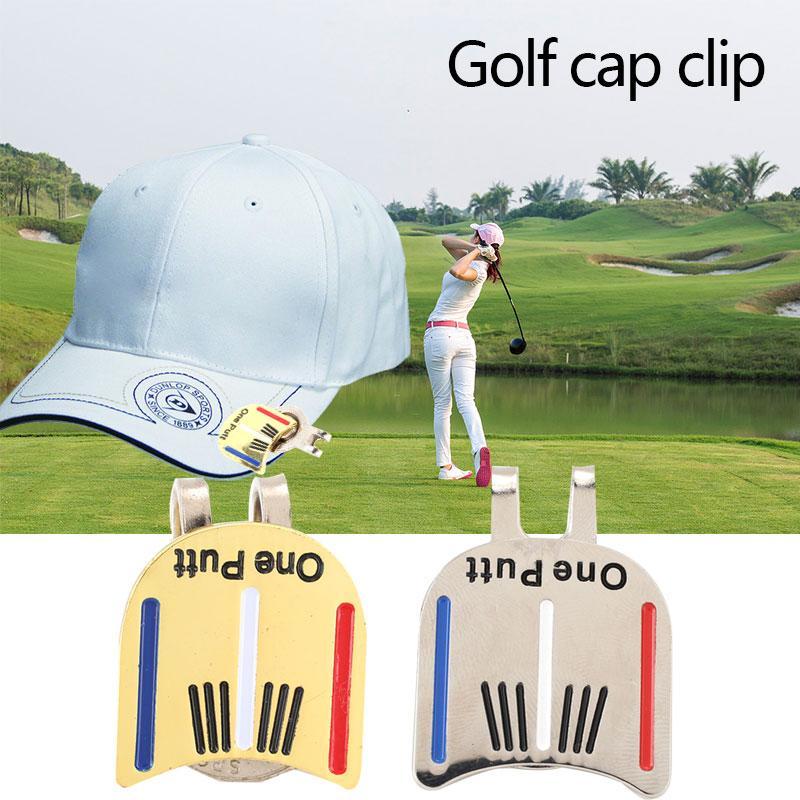 Mingrui One Putt Alloy Golf Ball Marker Golf Cap Clip Golf Hat Clip Magnetic - 6