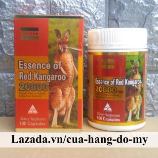 Viên Uống Essence of Red Kangaroo 20800 max 100 viên - giúp Tăng Cường Sức Khỏe thumbnail