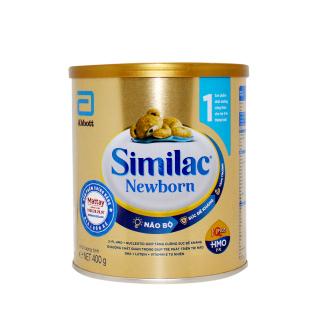 Sữa Similac 1( 0-6 tháng )- USA - Lon 400g - Bổ Sung Dinh Dưỡng Cho Bé thumbnail