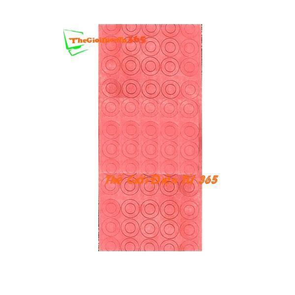 Bảng giá MIẾNG DÁN 1 CELL BẢO VỆ CỰC CHO CELL PIN 18650 –  ĐỎ Phong Vũ