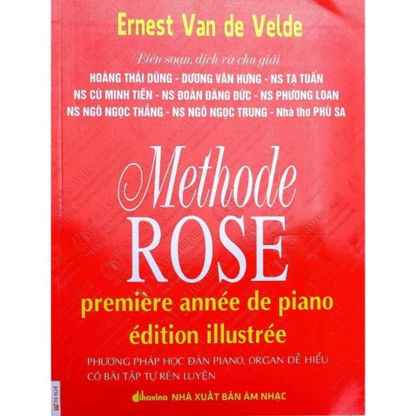 Mua Phương Pháp Học Đàn Piano Vỡ Lòng - Methode Rose (Phương Pháp Hoa Hồng) - Tặng kèm CD đánh mẫu